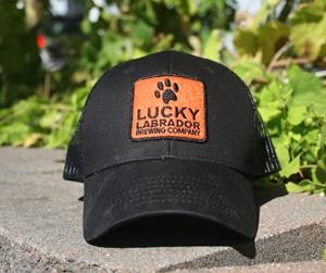 Black Patch Hat 300